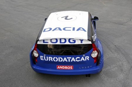 Trophée Andros и Dacia Lodgy Glace