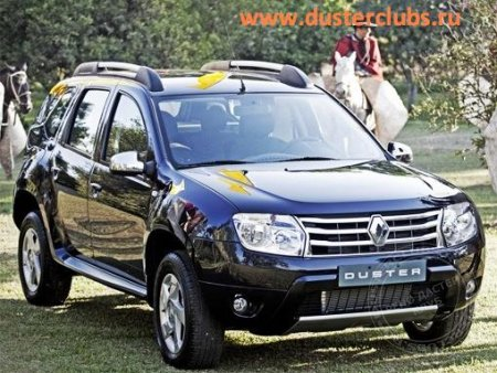 Рено Дастер (Renault Duster) Expression 1,5D 4WD MT6