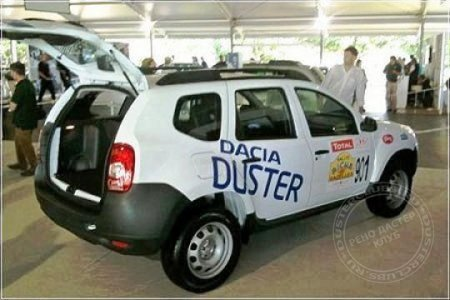 "Duster Dacia на ""Festival of Speed"""