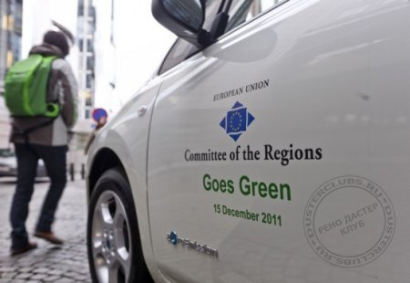 Nissan Leaf now part of EU committee of regions fleet