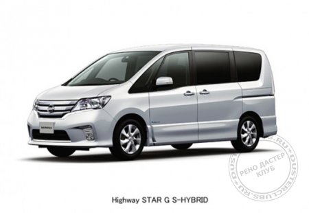 Nissan Releases Serena S-HYBRID
