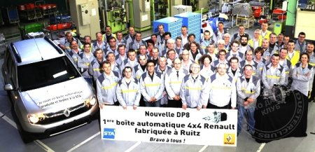 STA plant, Ruitz: Production of the first 4WD automatic transmission